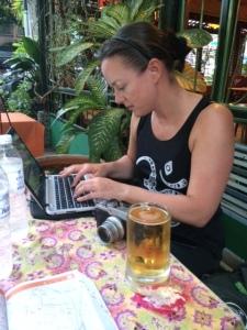 Bangkok blogger