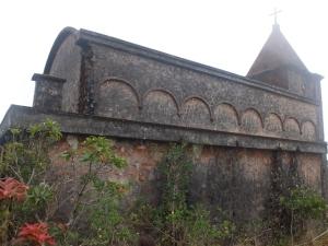Catholic church at Boker Hill Station.
