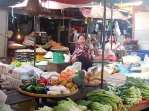 Veggie market.